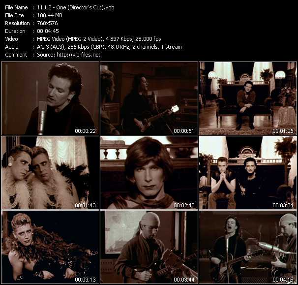 U2 video - One (Director's Cut)