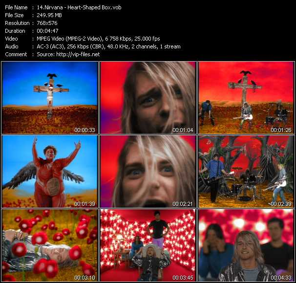 Nirvana video - Heart-Shaped Box