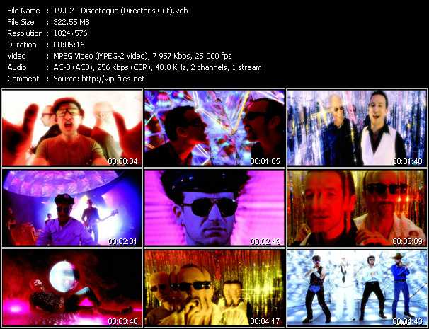 U2 video - Discoteque (Director's Cut)