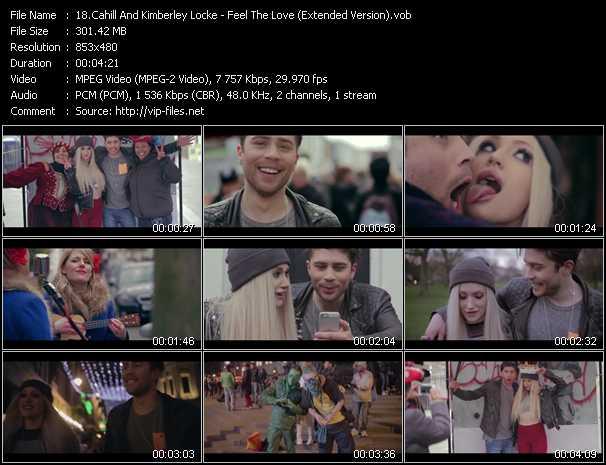 Cahill And Kimberley Locke music video Publish2