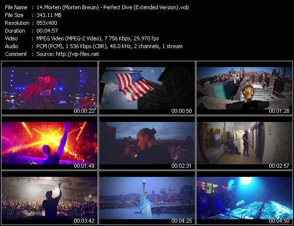 Morten (Morten Breum) HQ Videoclip «Perfect Dive (Extended Version)»