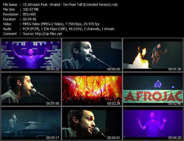 Afrojack Feat. Wrabel HQ Videoclip «Ten Feet Tall (Extended Version)»