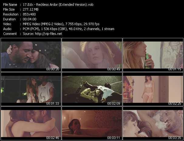 Edx HQ Videoclip «Reckless Ardor (Extended Version)»
