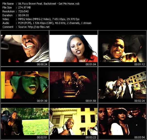 Foxy Brown Feat Blackstreet Get Me Home Vob File
