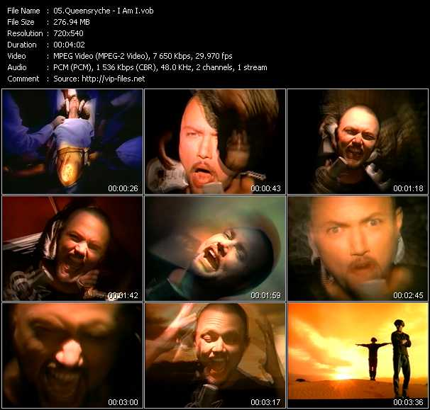 Queensryche video - I Am I