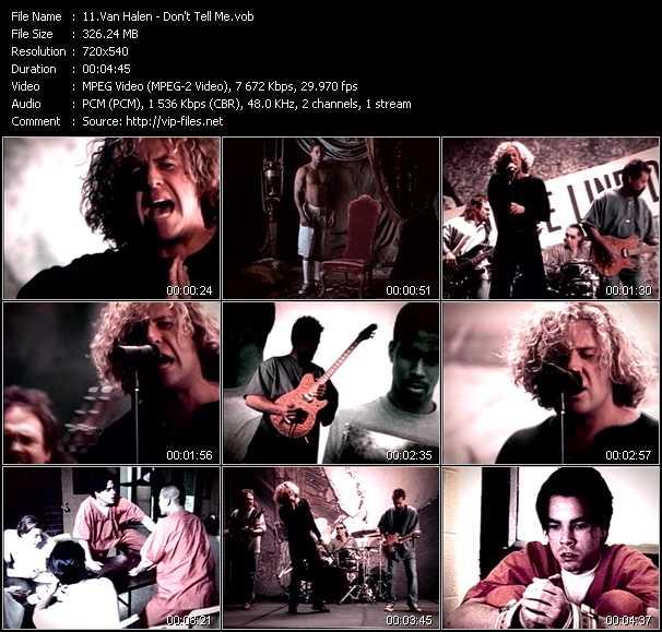 Van Halen music video Publish2