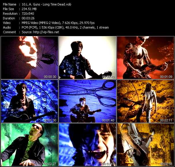 L.A. Guns music video Publish2