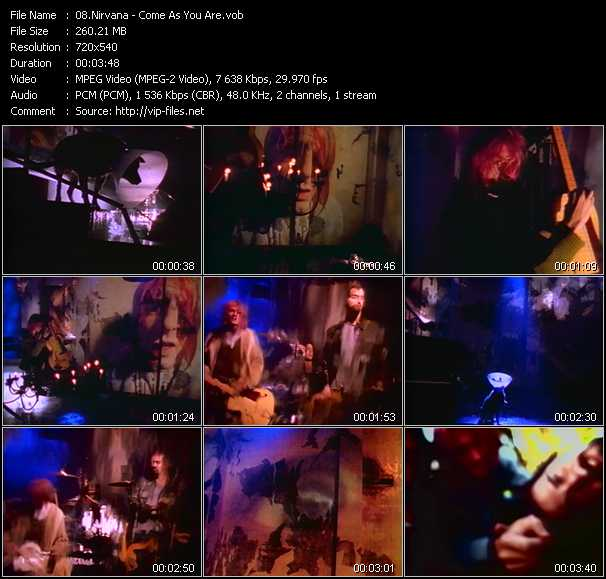 Nirvana video - Come As You Are