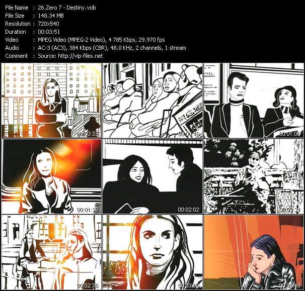 Zero 7 music video Publish2