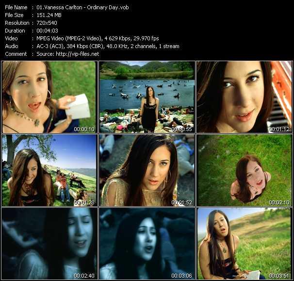 Vanessa Carlton video - Ordinary Day