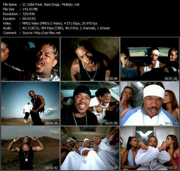 Xzibit Feat. Nate Dogg video - Multiply
