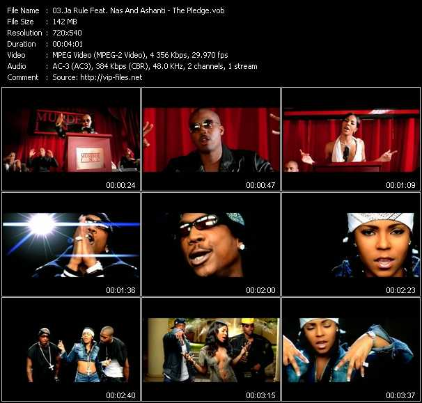 Ja Rule Feat. Nas And Ashanti video - The Pledge
