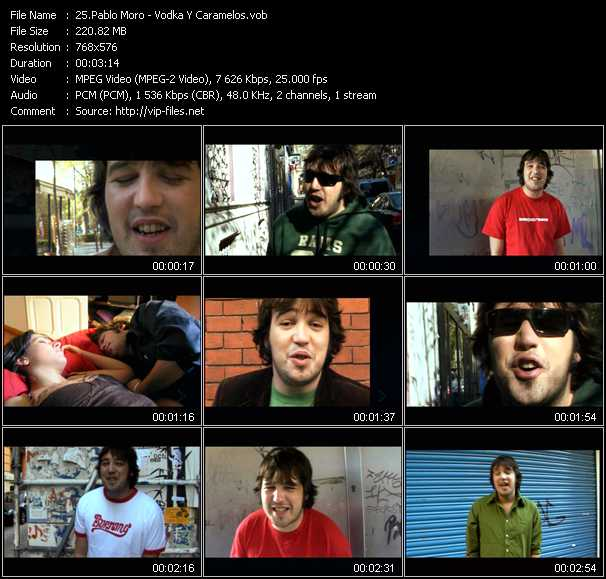 Pablo Moro music video Publish2