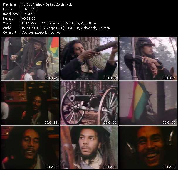 Bob Marley video - Buffalo Soldier
