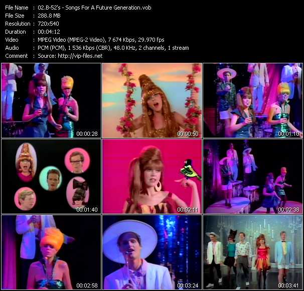 B-52's music video Publish2