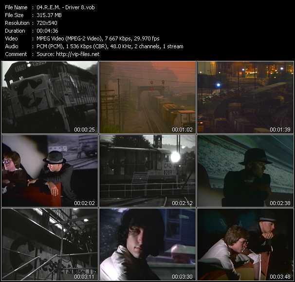 R.E.M. video - Driver 8