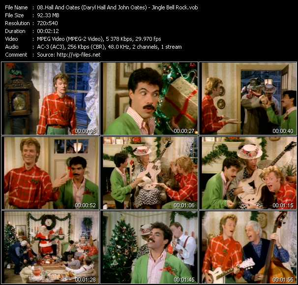 Hall And Oates (Daryl Hall And John Oates) video - Jingle Bell Rock