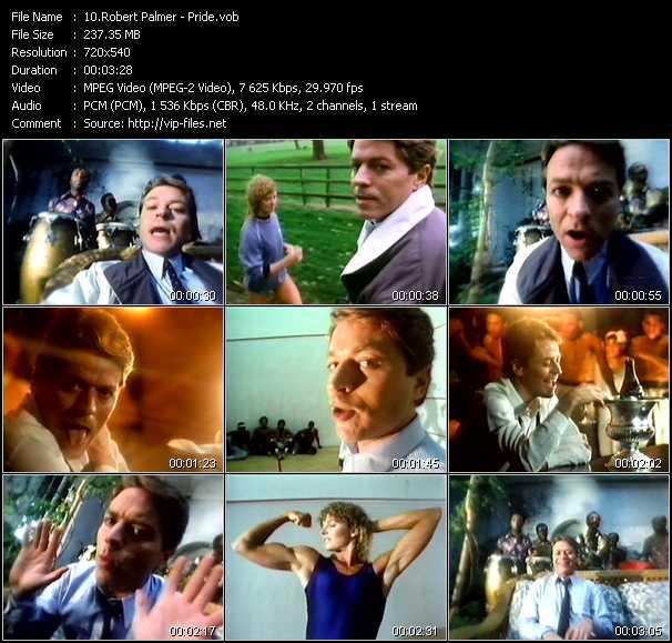 Robert Palmer video - Pride