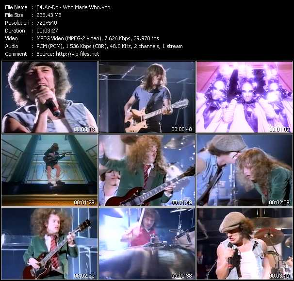 Ac-Dc music video Florenfile