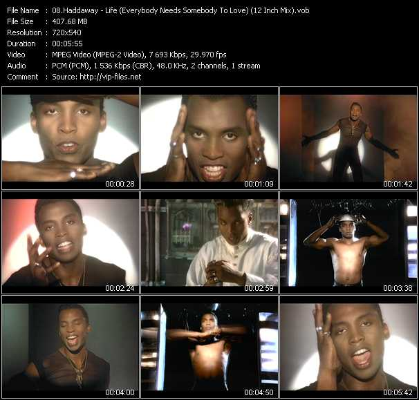 Haddaway music video Publish2
