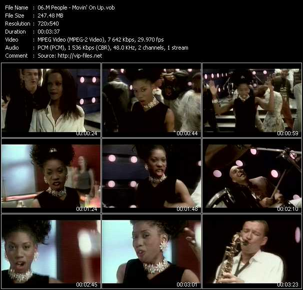 M People video - Movin' On Up