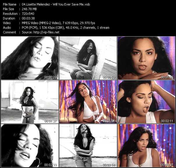 Lisette Melendez video - Will You Ever Save Me