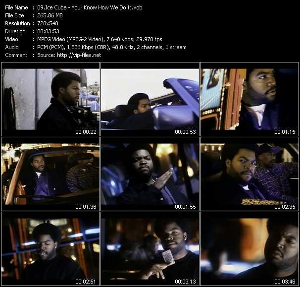 Ice Cube video - Your Know How We Do It