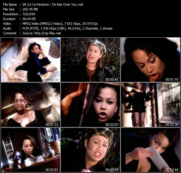 Ce Ce Peniston video - I'm Not Over You