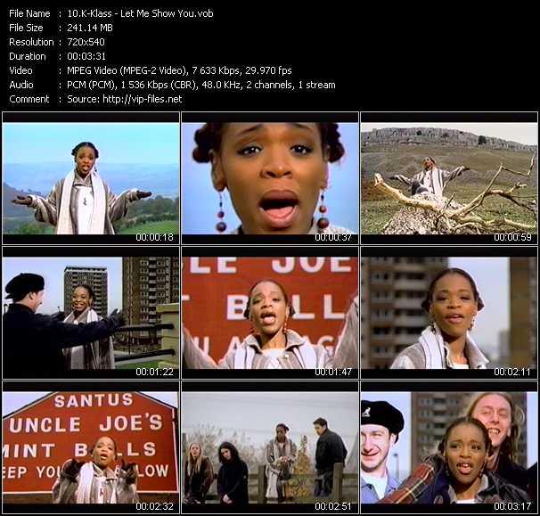 K-Klass music video Publish2