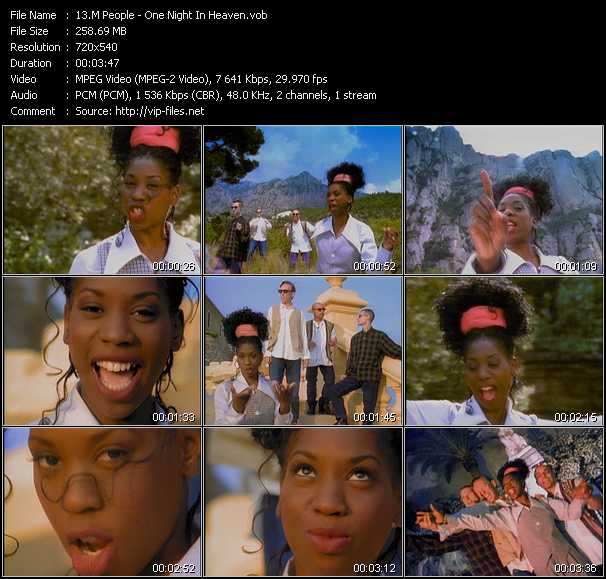 M People video - One Night In Heaven