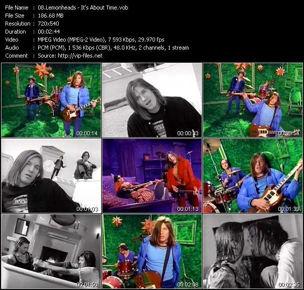 Lemonheads video - It's About Time