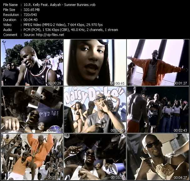 R. Kelly Feat. Aaliyah music video Publish2