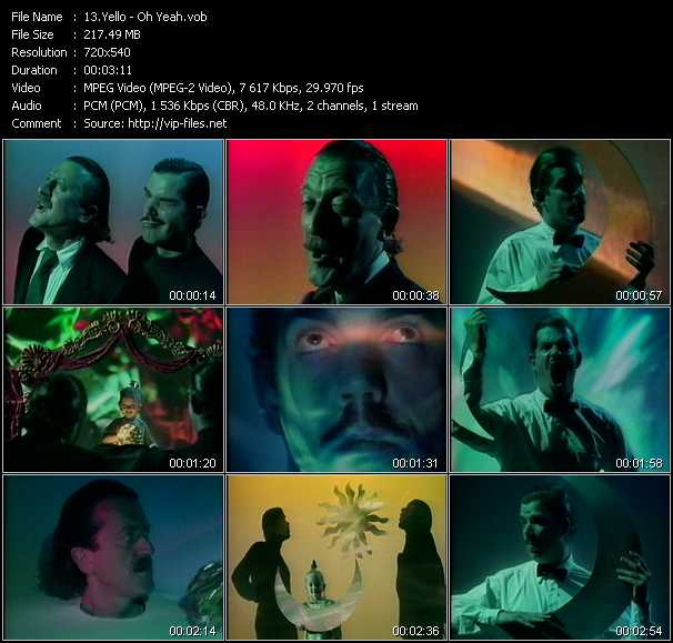Yello video - Oh Yeah