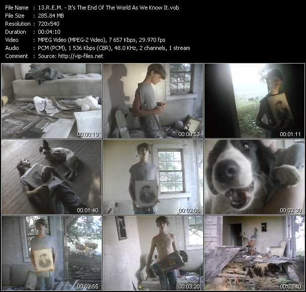 R.E.M. music video Publish2