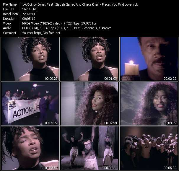 Quincy Jones Feat. Siedah Garrett And Chaka Khan music video Publish2