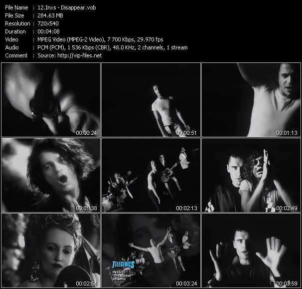 Inxs video - Disappear