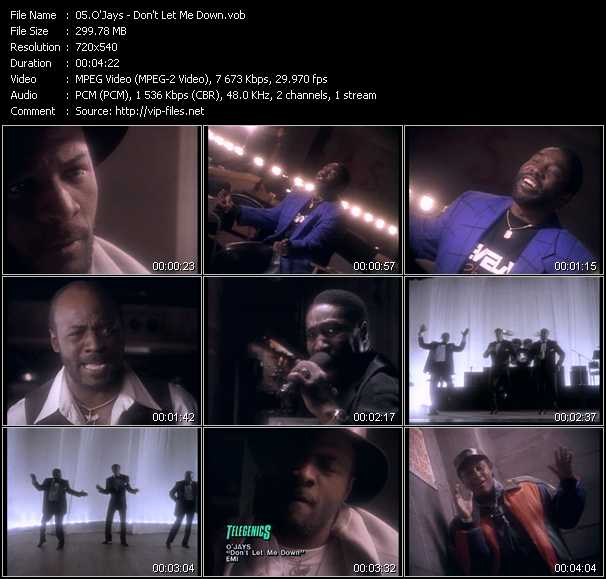 O'Jays video - Don't Let Me Down