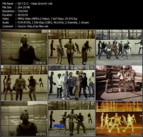 T.D.C. video - Keep Groovin'