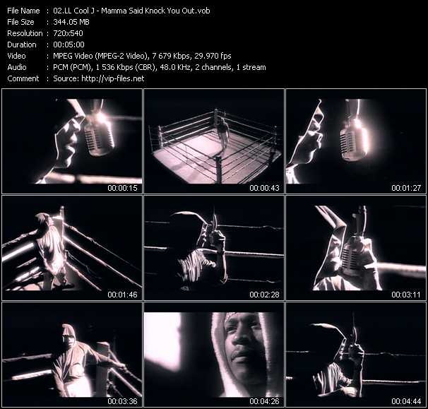 LL Cool J video - Mamma Said Knock You Out