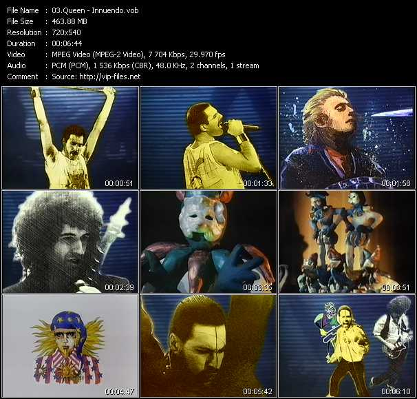 Queen video - Innuendo