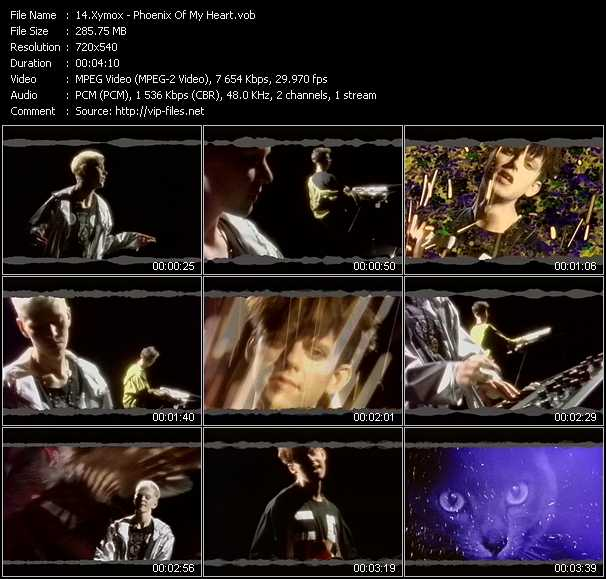 Xymox video - Phoenix Of My Heart
