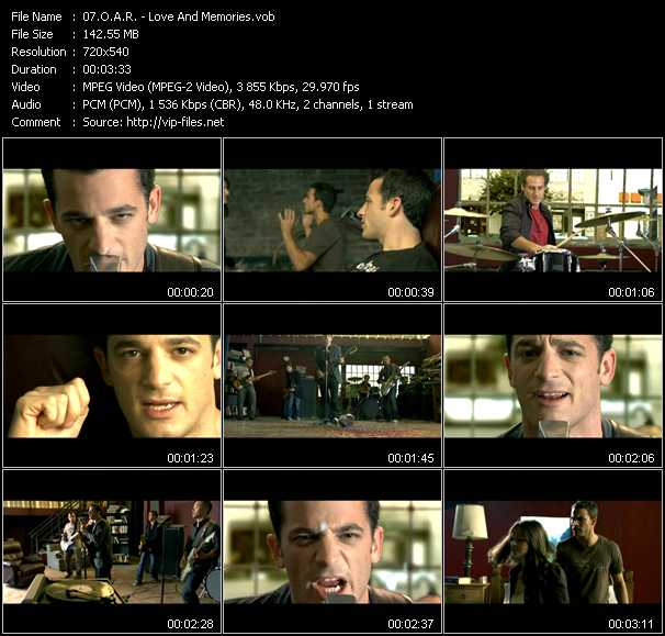 O.A.R. music video Publish2