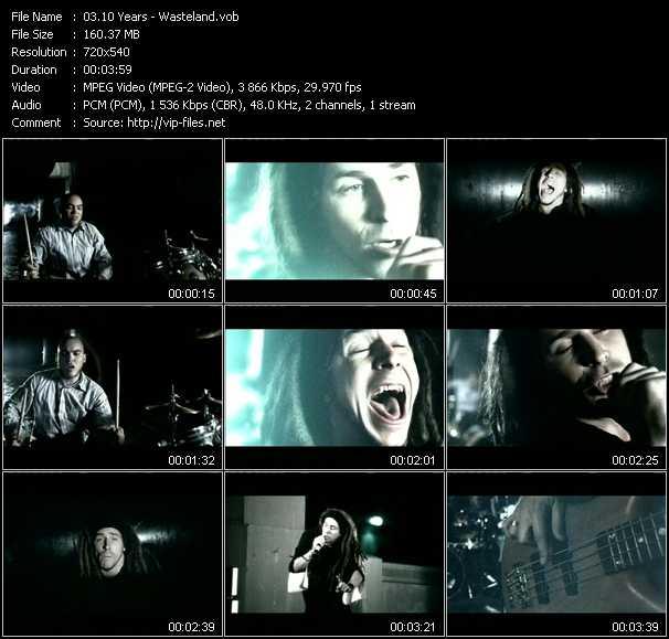10 Years video - Wasteland