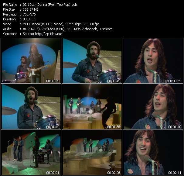 10cc video - Donna (From Top Pop)