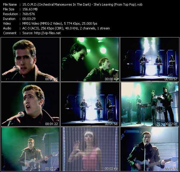 O.M.D. (Orchestral Manoeuvres In The Dark) video - She's Leaving (From Top Pop)