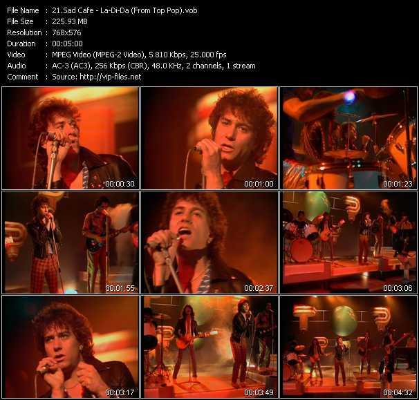 Sad Cafe music video Publish2