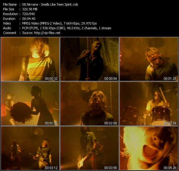 Nirvana video - Smells Like Teen Spirit