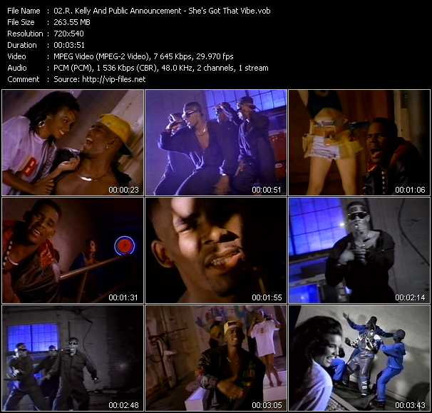 R. Kelly And Public Announcement music video Publish2