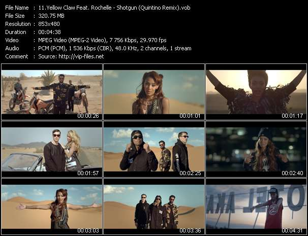 Yellow Claw Feat. Rochelle music video Publish2