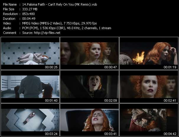 Paloma Faith music video Publish2